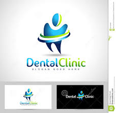 dental dentist logo stock vector image 55722482