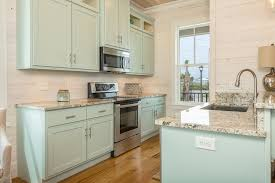 Coastal Cottage Kitchens - turquoise cabinets cottage kitchen pat o u0027neal interiors with