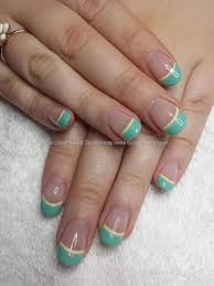 eye candy nails u0026 training mint green french polish by elaine