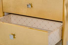 furniture appealing gold nightstand for modern bedroom decorating