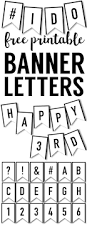 25 unique printable banner letters ideas on pinterest free