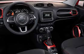 red jeep compass interior 2017 jeep renegade vs 2017 jeep compass