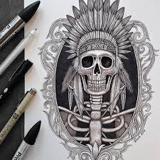 Amazing Skull - amazing skull drawings by venla hannola