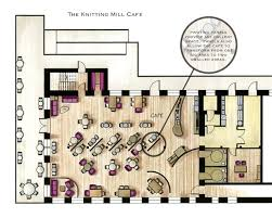 Color Floor Plan Cafe Floor Plans Examples In Color Google Search Cafe Project