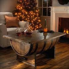 whiskey barrel table for sale coffee table whiskeyrrel coffee table home design and decor wine