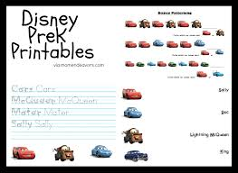 collection of solutions disney cars worksheets for cover letter