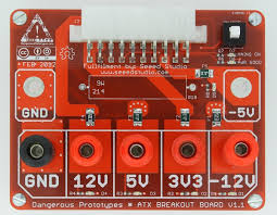 Pc Power Supply Bench Atx Breakout Board Dp
