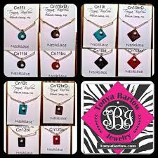 Small Monogram Necklace Small 3 4