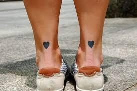 54 designer heart tattoos on ankle