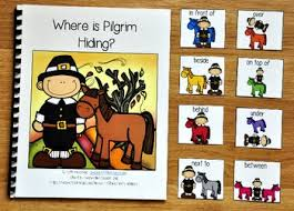 thanksgiving adapted book where is pilgrim hiding by file folder