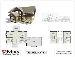 a frame house floor plans 2 story timber frame house plans mira timber frame