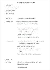 functional resume template word functional format resume ideas about functional resume template on