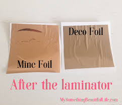 deco foil beautiful foiling projects with your laminator my something