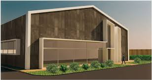 metal warehouse conversion metal hall architecture design concept