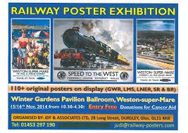 poster exhibition at weston super mare