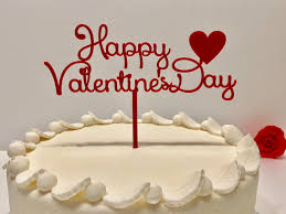 happy valentines day custom cake toppers valentines day decor