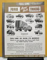 Vintage Ford Truck Brochures - ford truck model f 1 2 3 4 5 6 7 8 sales brochure u0026 specifications