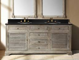 rustic bathroom vanities for a casual country style bathroom