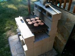 Building Outdoor Fireplace With Cinder Blocks by 15 Best Grill Images On Pinterest Barbecue Grill Cinder Blocks