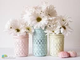 spring mason jars u2013 beach blues