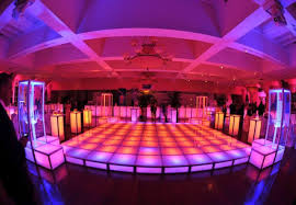 floor rental rent led dancefloor acrylic stage riser rental lighted