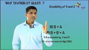 class 6 10 the divisibility rule of 3 and 9 youtube