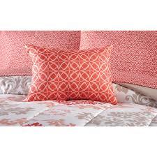 mainstays coral damask bed in a bag bedding set walmart com