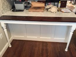 custom kitchen island extension by j u0026 s woodworking custommade com