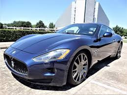 maserati granturismo blue new and used maserati granturismo for sale motorcar com