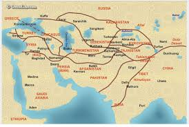 Turkestan Map How Did Trade Change China Thinglink