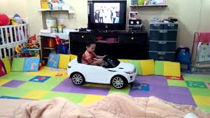 land rover kid range rover evoque kid car youtube