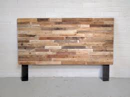 Pallet Wood Headboard Inspirations Recycled Pallet Wood Headboard Or Bed Trends Also