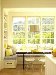 Dining Room Bay Window Treatments - dining table small breakfast nook ideas wooden dining table bay