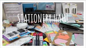 stationery haul hobby lobby staples