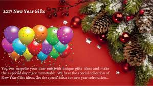 unique gifts for new get the unique happy new year gift ideas