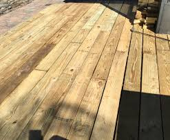 Deck In The Backyard Tips For Making A Wood Deck