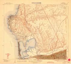 la jolla map sdag historical topographic maps san diego county