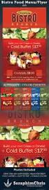bistro brunch restaurant flyer template bistros flyer template
