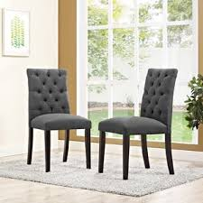 Dining Armchairs Upholstered Tufted Dining Chairs You U0027ll Love Wayfair