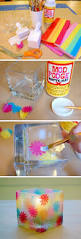 how to decorative a votive holder like stained glass parent