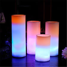 white pillar candle romantic wedding decoration candela et