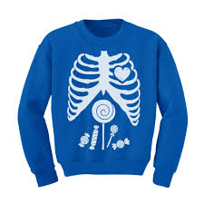 funny halloween t shirts children skeleton candy rib cage x ray halloween funny kids