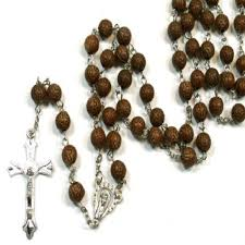 buy rosary brown acrylic crosses rosary cross necklace buy