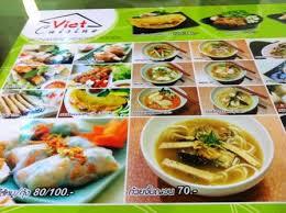 cuisine viet เมน ค ะ ร ปภาพร าน viet cuisine เว ยต ค ซ น ใน บางแคเหน อ