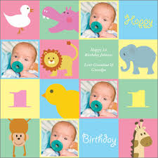 personalized wrapping paper baby animal squares photo personalized wrapping paper pricing