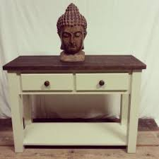 shabby chic console table visualizeus