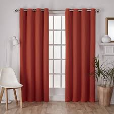Insulated Window Curtains Ati Home Sateen Twill Weave Insulated Blackout Window Curtain