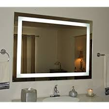 amazon com lighted vanity mirror led mam86040 commercial grade 60