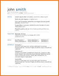 Microsoft Resume Templates For Word Free Word Templates Resume Resume Template And Professional Resume