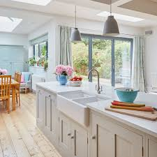 Galley Kitchen Extension Ideas Before And After From Cramped Galley Kitchen To Supersized Extension